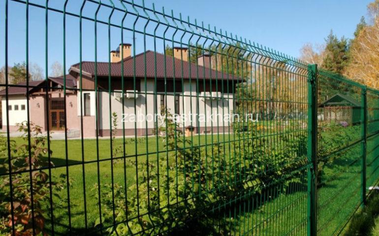 3д забор в Астрахани